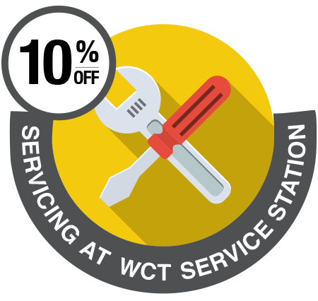 10% off WCT Service Station icon