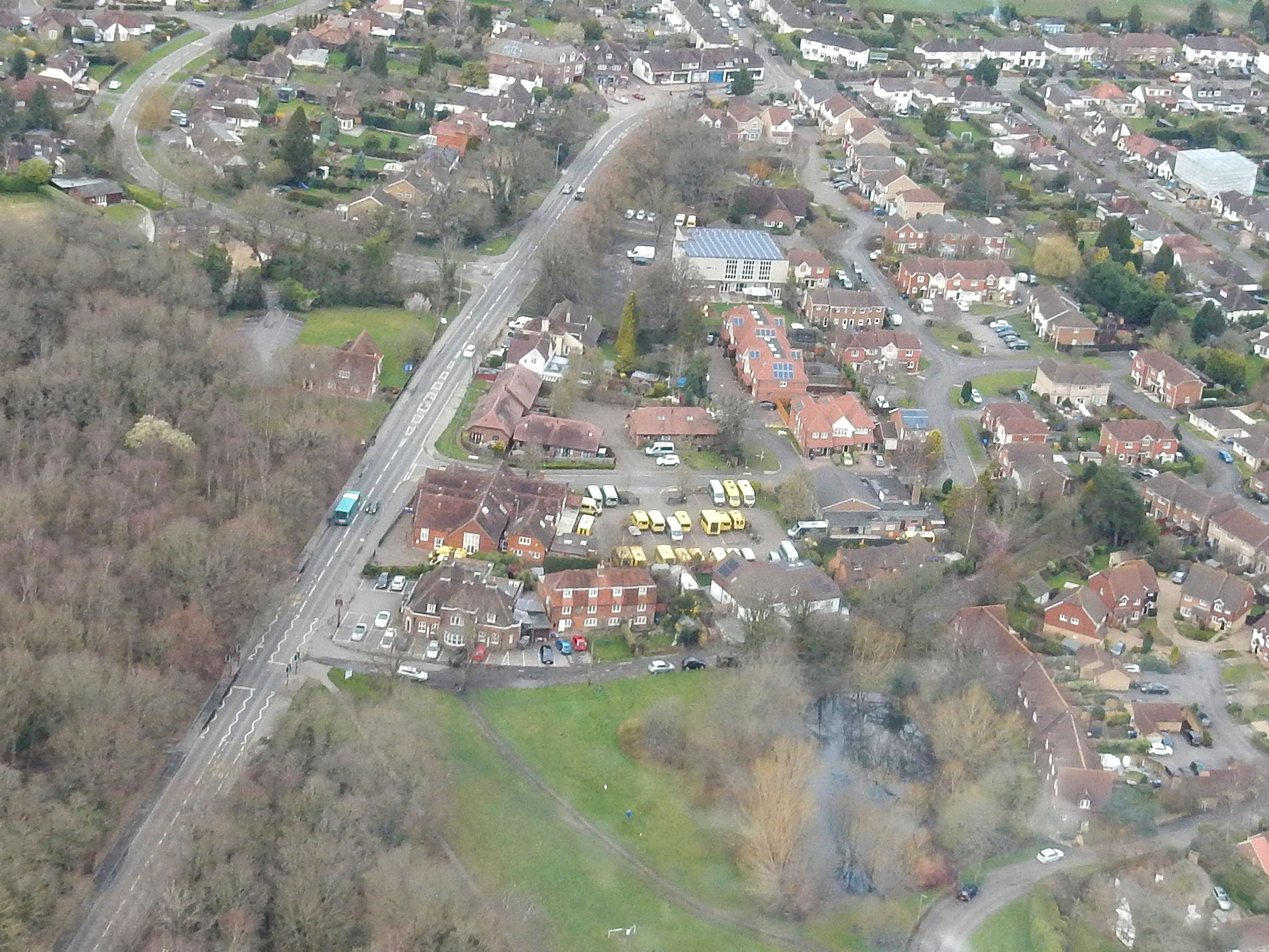 Aerial images of the Woking Bustler2