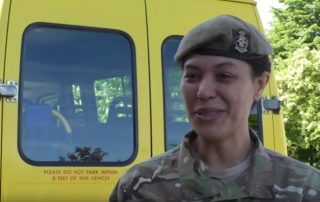Ash Manor cadets minibus donation Video picture