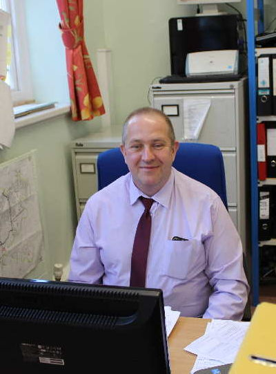 Mark our Finance administration manager image at WCT
