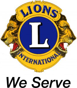 Lions logo - We Serve