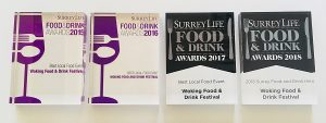 Woking Food and Drink Festival Award image
