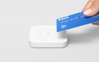 Im,age of a Contactless card reader to used on the Woking Bustler