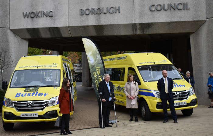 Electric Vehicle Bustler at Woking Borough Council